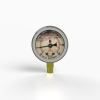 "2.5"" Oil Filled Vacuum Gauge - Bottom Mount"