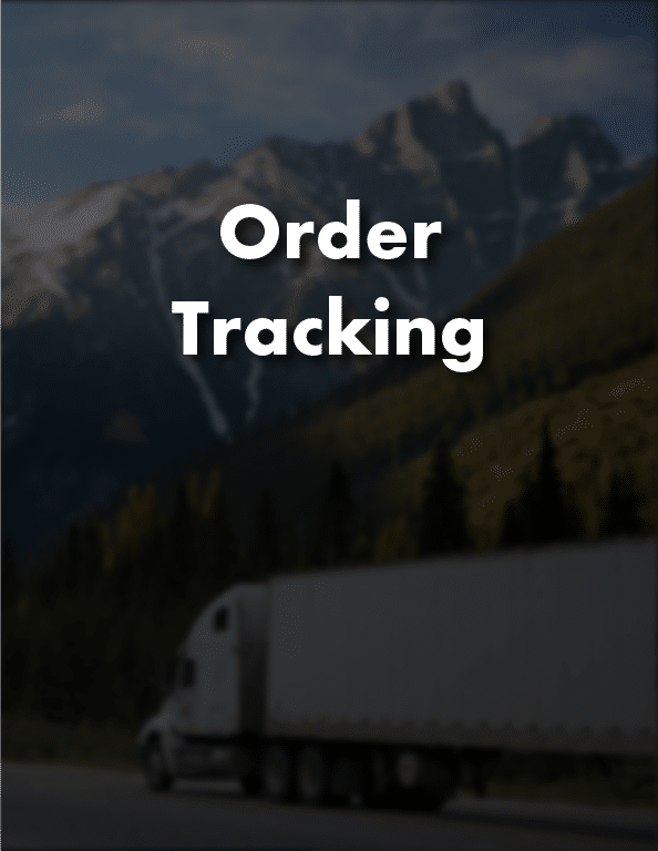 BLICK INDUSTRIES Order Tracking